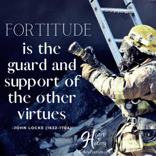 John Locke quote Fortitude