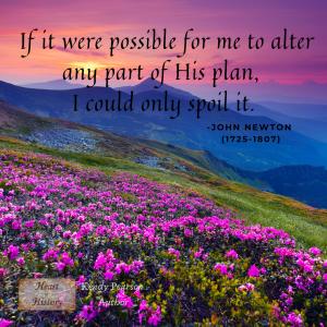 John Newton Quote God's plan