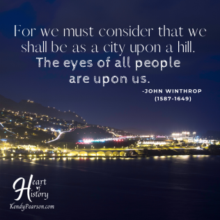 John Winthrop quote City on a Hill